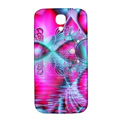 Ruby Red Crystal Palace, Abstract Jewels Samsung Galaxy S4 I9500/I9505  Hardshell Back Case
