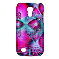 Ruby Red Crystal Palace, Abstract Jewels Samsung Galaxy S4 Mini (GT-I9190) Hardshell Case