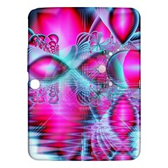 Ruby Red Crystal Palace, Abstract Jewels Samsung Galaxy Tab 3 (10.1 ) P5200 Hardshell Case