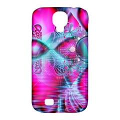 Ruby Red Crystal Palace, Abstract Jewels Samsung Galaxy S4 Classic Hardshell Case (PC+Silicone)