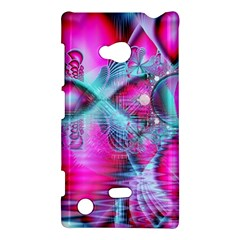 Ruby Red Crystal Palace, Abstract Jewels Nokia Lumia 720 Hardshell Case