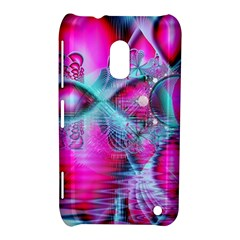 Ruby Red Crystal Palace, Abstract Jewels Nokia Lumia 620 Hardshell Case