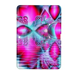 Ruby Red Crystal Palace, Abstract Jewels Samsung Galaxy Tab 2 (10.1 ) P5100 Hardshell Case