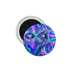 Peacock Crystal Palace Of Dreams, Abstract 1.75  Button Magnet