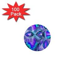 Peacock Crystal Palace Of Dreams, Abstract 1  Mini Button (100 pack)