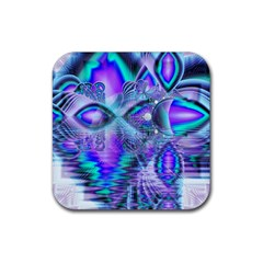 Peacock Crystal Palace Of Dreams, Abstract Drink Coasters 4 Pack (Square)