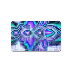 Peacock Crystal Palace Of Dreams, Abstract Magnet (Name Card)
