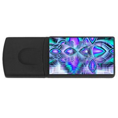 Peacock Crystal Palace Of Dreams, Abstract 2GB USB Flash Drive (Rectangle)