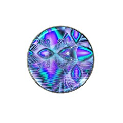 Peacock Crystal Palace Of Dreams, Abstract Golf Ball Marker 4 Pack (for Hat Clip)