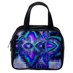 Peacock Crystal Palace Of Dreams, Abstract Classic Handbag (One Side)