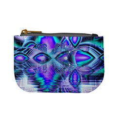 Peacock Crystal Palace Of Dreams, Abstract Coin Change Purse