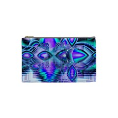 Peacock Crystal Palace Of Dreams, Abstract Cosmetic Bag (Small)