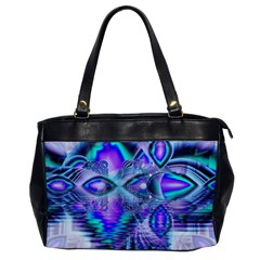 Peacock Crystal Palace Of Dreams, Abstract Oversize Office Handbag (One Side)