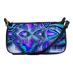 Peacock Crystal Palace Of Dreams, Abstract Evening Bag