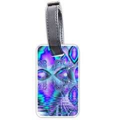 Peacock Crystal Palace Of Dreams, Abstract Luggage Tag (Two Sides)