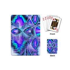 Peacock Crystal Palace Of Dreams, Abstract Playing Cards (mini)