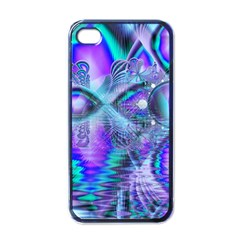 Peacock Crystal Palace Of Dreams, Abstract Apple Iphone 4 Case (black)
