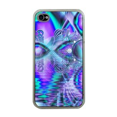 Peacock Crystal Palace Of Dreams, Abstract Apple Iphone 4 Case (clear)