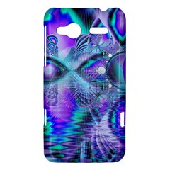 Peacock Crystal Palace Of Dreams, Abstract HTC Radar Hardshell Case