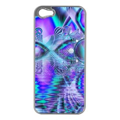 Peacock Crystal Palace Of Dreams, Abstract Apple iPhone 5 Case (Silver)