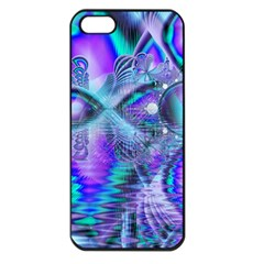 Peacock Crystal Palace Of Dreams, Abstract Apple iPhone 5 Seamless Case (Black)