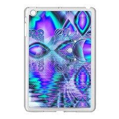 Peacock Crystal Palace Of Dreams, Abstract Apple iPad Mini Case (White)