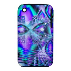 Peacock Crystal Palace Of Dreams, Abstract Apple Iphone 3g/3gs Hardshell Case (pc+silicone)
