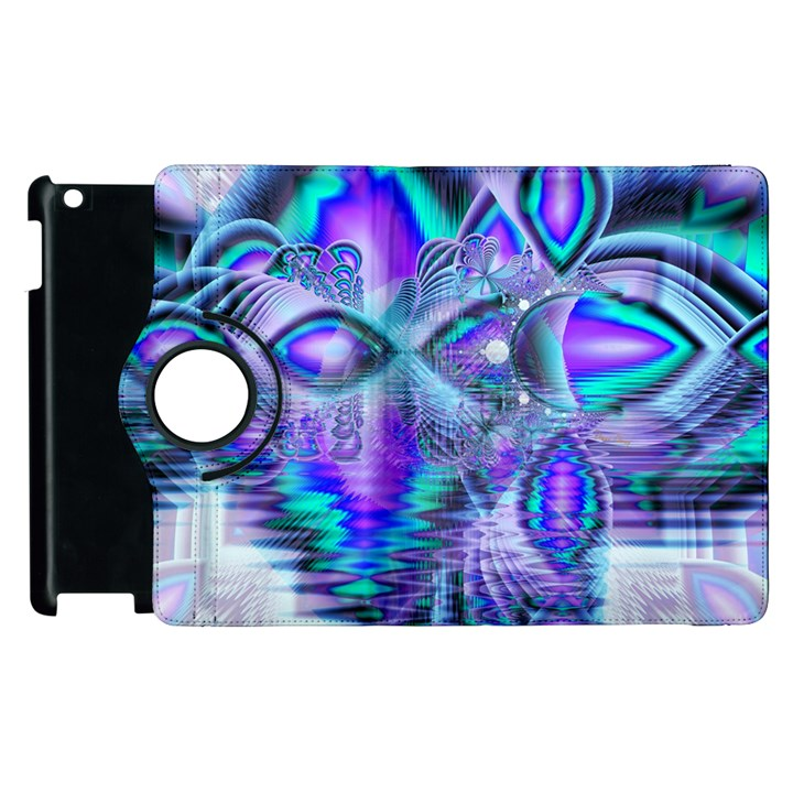 Peacock Crystal Palace Of Dreams, Abstract Apple iPad 3/4 Flip 360 Case
