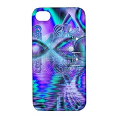 Peacock Crystal Palace Of Dreams, Abstract Apple iPhone 4/4S Hardshell Case with Stand