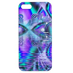 Peacock Crystal Palace Of Dreams, Abstract Apple iPhone 5 Hardshell Case with Stand