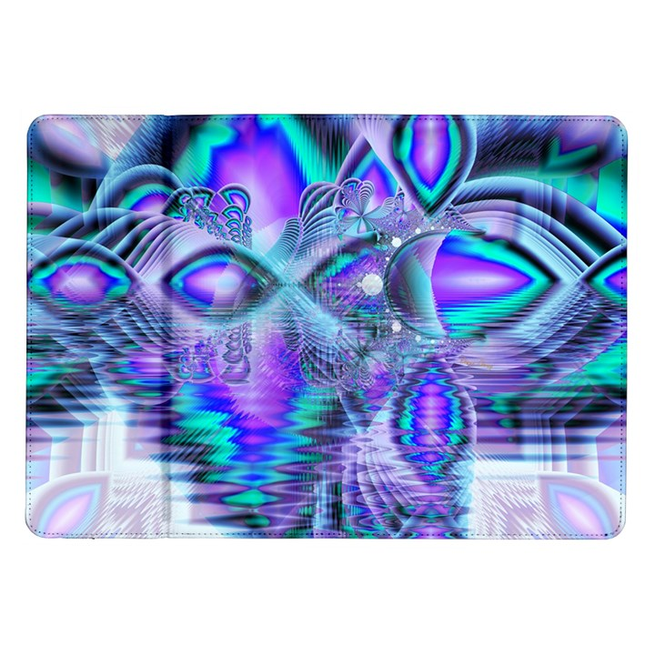 Peacock Crystal Palace Of Dreams, Abstract Samsung Galaxy Tab 10.1  P7500 Flip Case