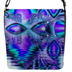 Peacock Crystal Palace Of Dreams, Abstract Flap Closure Messenger Bag (small)