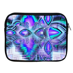 Peacock Crystal Palace Of Dreams, Abstract Apple iPad Zippered Sleeve