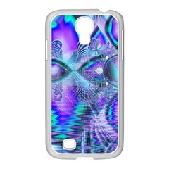 Peacock Crystal Palace Of Dreams, Abstract Samsung Galaxy S4 I9500/ I9505 Case (white)