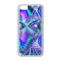 Peacock Crystal Palace Of Dreams, Abstract Apple iPhone 5C Seamless Case (White)