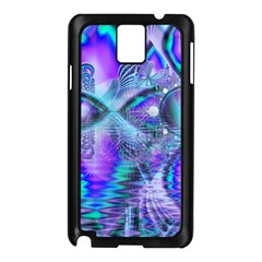 Peacock Crystal Palace Of Dreams, Abstract Samsung Galaxy Note 3 N9005 Case (Black)