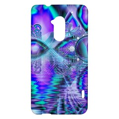 Peacock Crystal Palace Of Dreams, Abstract HTC One Max (T6) Hardshell Case
