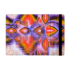 Crystal Star Dance, Abstract Purple Orange Apple iPad Mini Flip Case