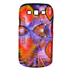 Crystal Star Dance, Abstract Purple Orange Samsung Galaxy S III Classic Hardshell Case (PC+Silicone)