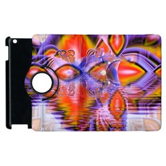 Crystal Star Dance, Abstract Purple Orange Apple Ipad 2 Flip 360 Case