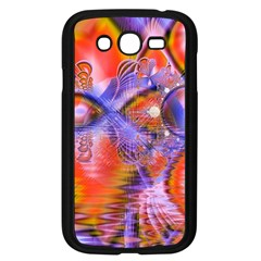 Crystal Star Dance, Abstract Purple Orange Samsung Galaxy Grand DUOS I9082 Case (Black)