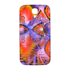 Crystal Star Dance, Abstract Purple Orange Samsung Galaxy S4 I9500/I9505  Hardshell Back Case