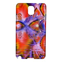 Crystal Star Dance, Abstract Purple Orange Samsung Galaxy Note 3 N9005 Hardshell Case