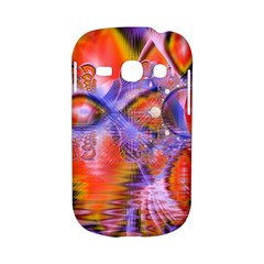 Crystal Star Dance, Abstract Purple Orange Samsung Galaxy S6810 Hardshell Case