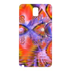 Crystal Star Dance, Abstract Purple Orange Samsung Galaxy Note 3 N9005 Hardshell Back Case