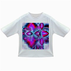 Crystal Northern Lights Palace, Abstract Ice  Baby T Shirt