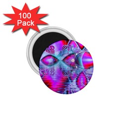 Crystal Northern Lights Palace, Abstract Ice  1.75  Button Magnet (100 pack)