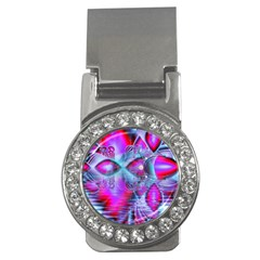 Crystal Northern Lights Palace, Abstract Ice  Money Clip (CZ)