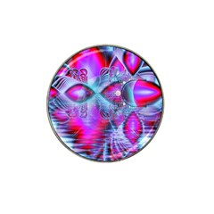 Crystal Northern Lights Palace, Abstract Ice  Golf Ball Marker 4 Pack (for Hat Clip)