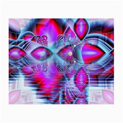 Crystal Northern Lights Palace, Abstract Ice  Glasses Cloth (Small)